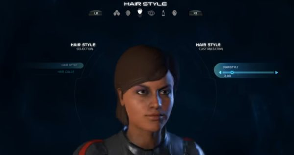 Mass Effect Andromeda Female Hairstyle 02