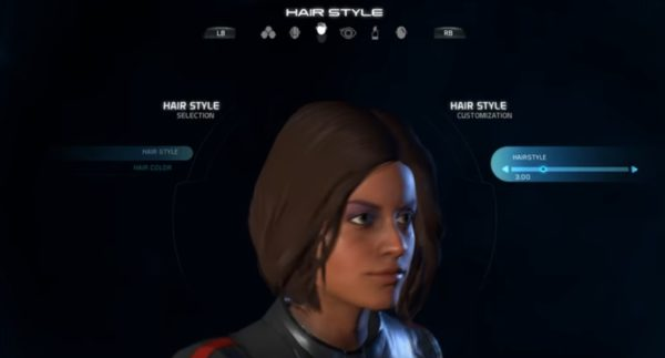 Mass Effect Andromeda Female Hairstyle 03