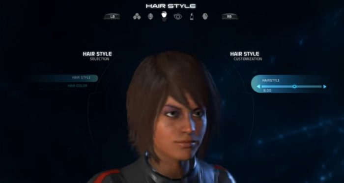 Mass Effect Andromeda Female Hairstyle 06