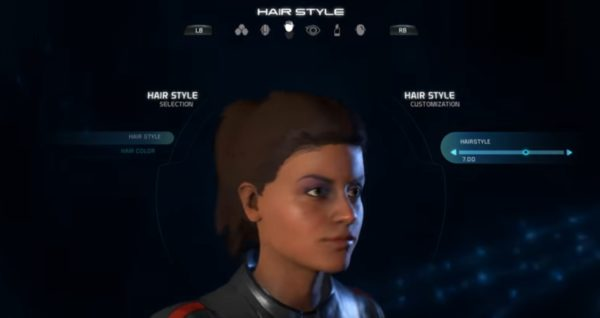 Mass Effect Andromeda Female Hairstyle 07