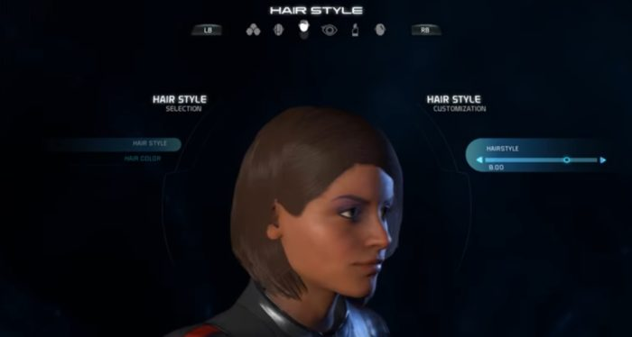 Mass Effect Andromeda Female Hairstyle 08