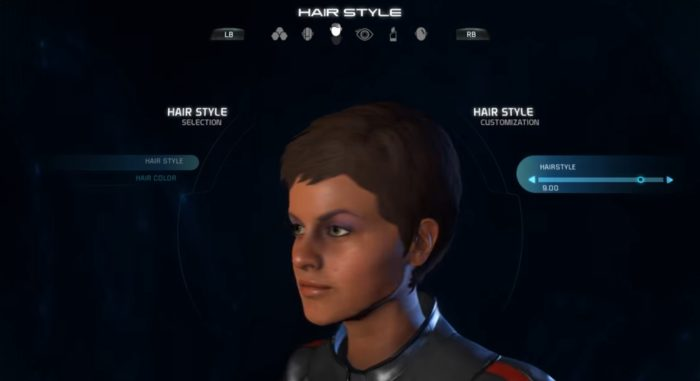 Mass Effect Andromeda Female Hairstyle 09