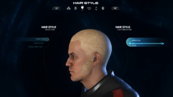 Mass Effect Andromeda Male Hairstyle 11