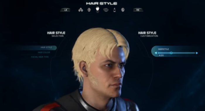 Mass Effect Andromeda Male Hairstyle 4