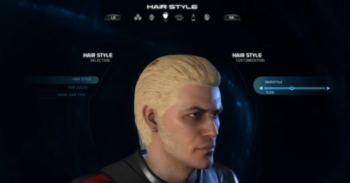 Mass Effect Andromeda Male Hairstyle 5