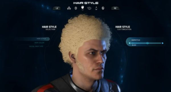 Mass Effect Andromeda Male Hairstyle 6