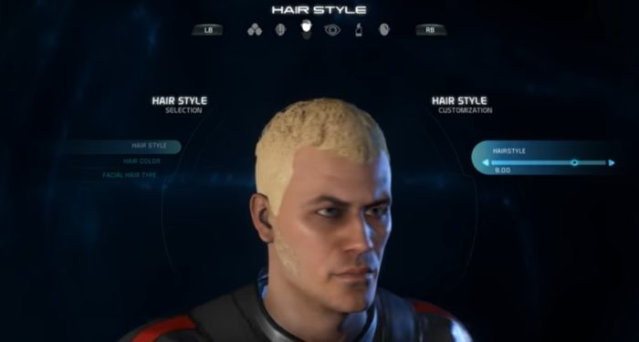 Mass Effect Andromeda Male Hairstyle 8