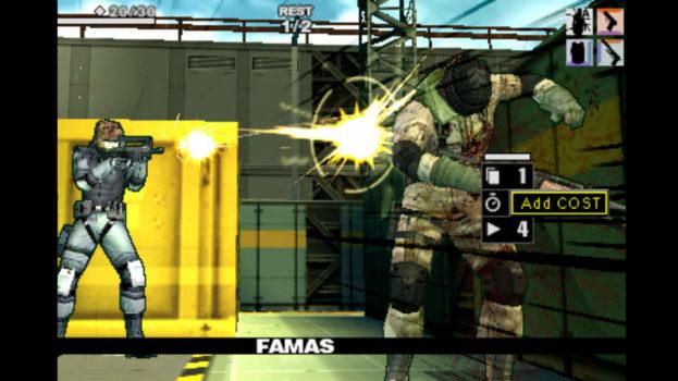 Metal Gear Acid - Metacritic Score: 75