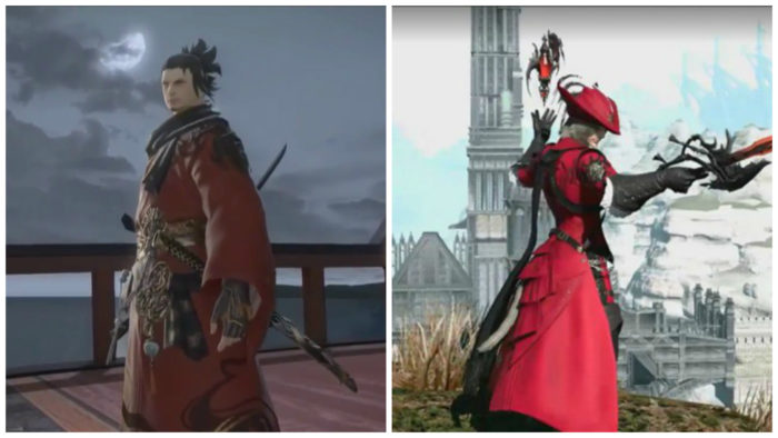 Red Mage Samurai