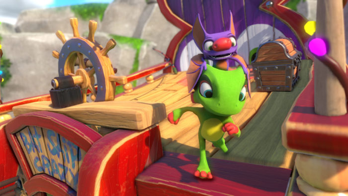 Yooka-Laylee Preview, xbox one, april 2017, video game, releases, update