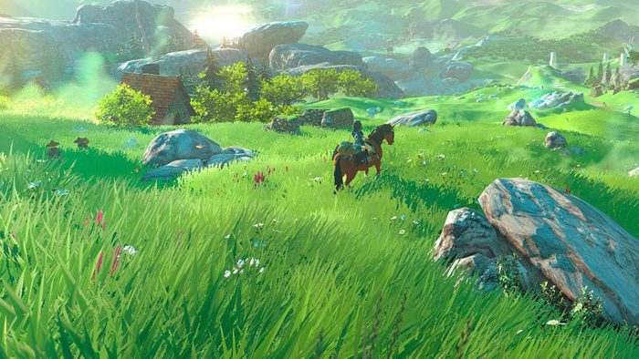 breath of the wild, zelda, horses, legend of zelda, open world, biggest, miles