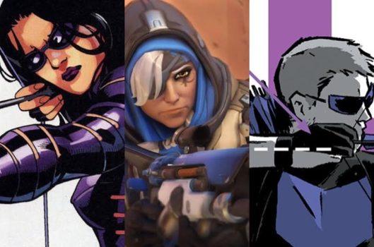 Ana Would Be... Hawkeye