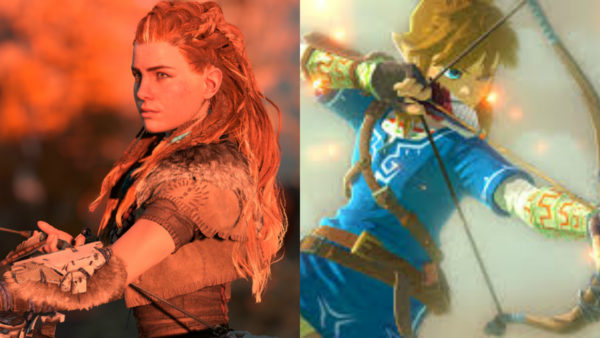 breath of the wild, horizon zero dawn