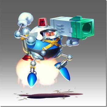heavy gunner Sonic Mania