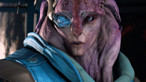 In Mass Effect: Andromeda, you gain an ally named Jaal. His full name is___
