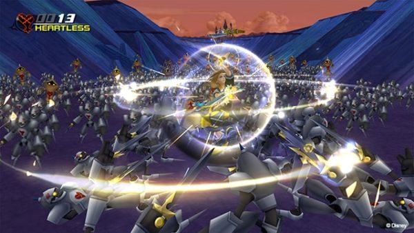 kingdom hearts gameplay