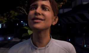 Mass Effect Andromeda Smile