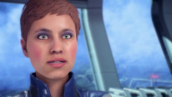 mass effect andromeda facial animations