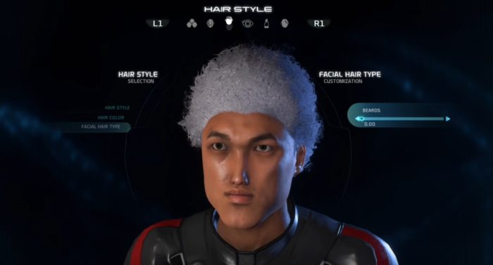 mass effect andromeda facial hair 0