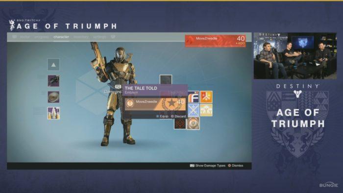 new emblems destiny age of triumph