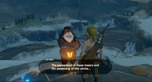 Zelda Breath Of The Wild Who Is The Old Man