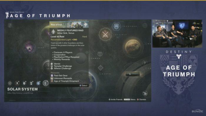 raids destiny age of triumph