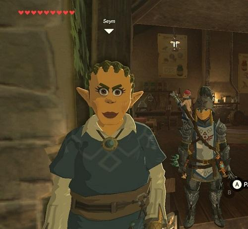 ugliest, npc, breath of the wild