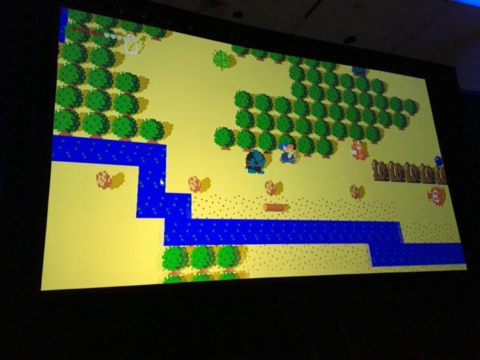 Zelda, concept, breath of the wild, 2D