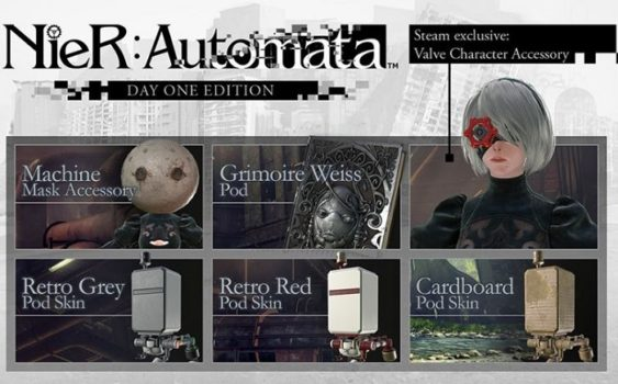 NieR Automata Day One Edition for PC: What's Inside?