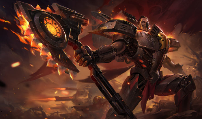League of Legends Dreadnova Darius