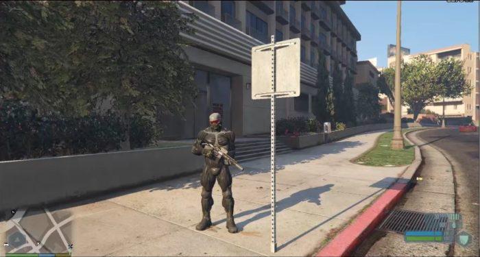 GTA V Crysis Mod