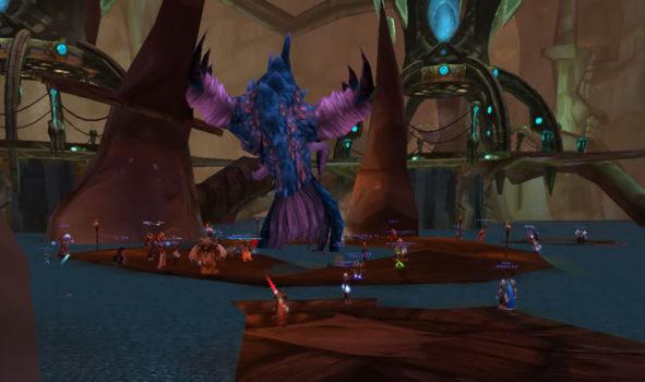 World of Warcraft, Serpent Shrine Cavern, Burning Crusade