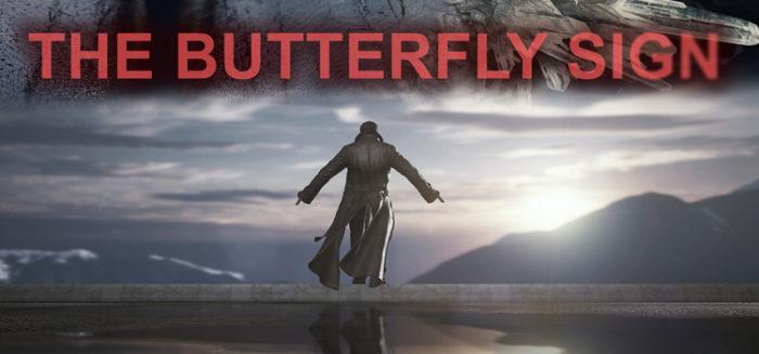 butterfly sign header