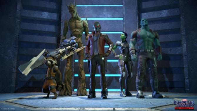 guardians of the galaxy, cast, telltale games, voice actors
