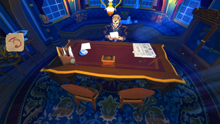 herald captain's desk
