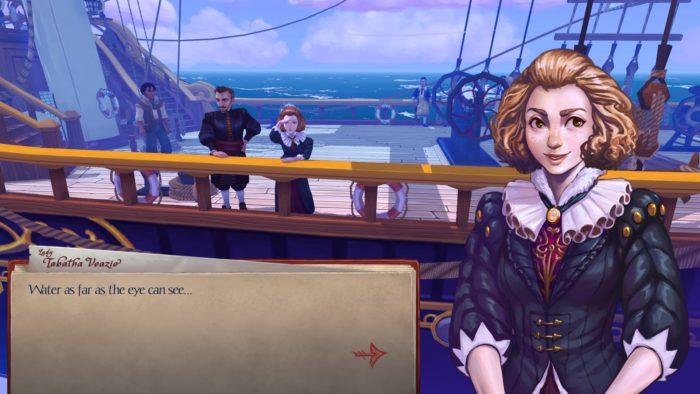 herald tabatha at sea