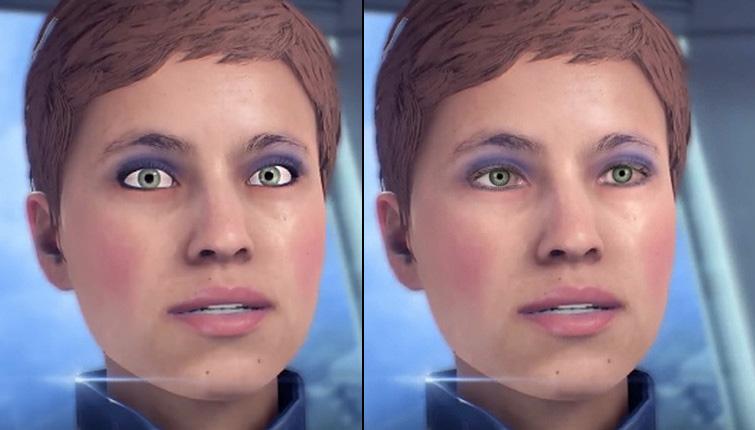 mass effect andromeda facial animations