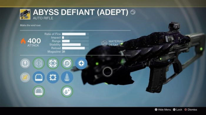 Abyss Defiant (Adept)
