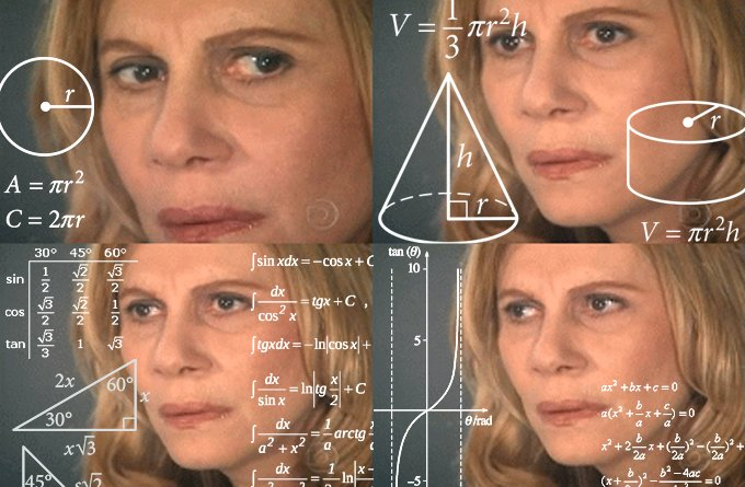 woman math meme
