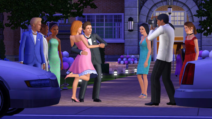 sims 3, prom