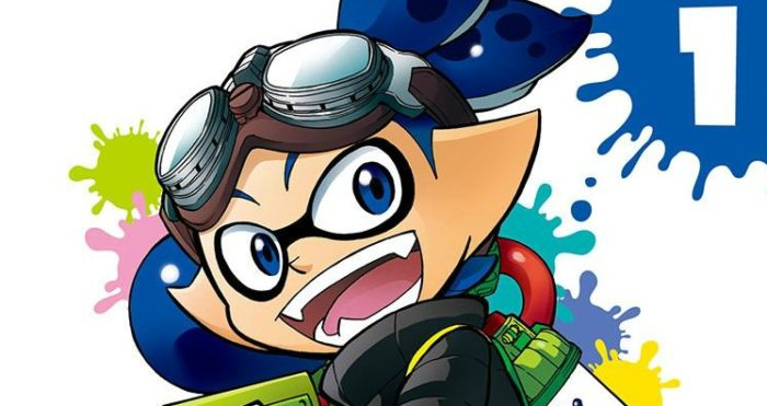 splatoon, splatoon 2, manga