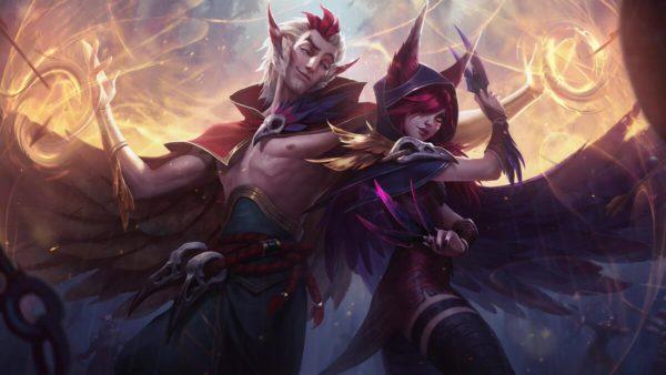 League of Legends Xayah Rakan