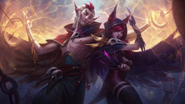 League of Legends Xayah Rakan