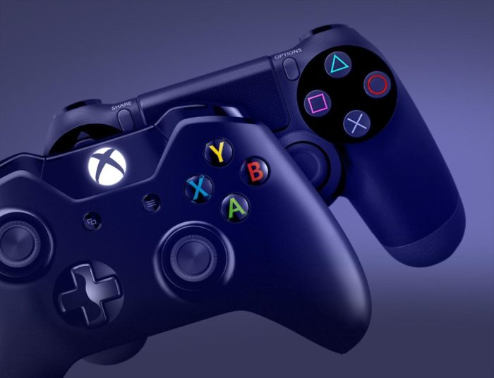 xbox-one-playstation-4-controllers