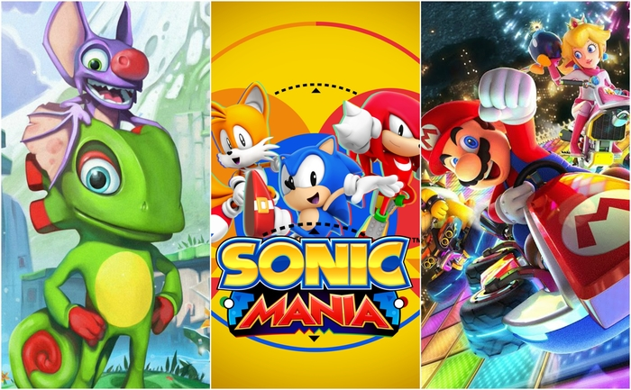 nintendo switch, switch titles, yooka-laylee, sonic