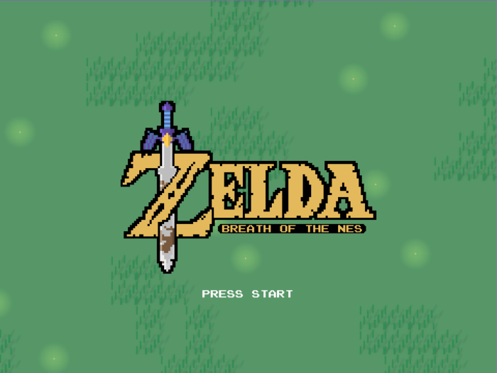 Zelda fan game