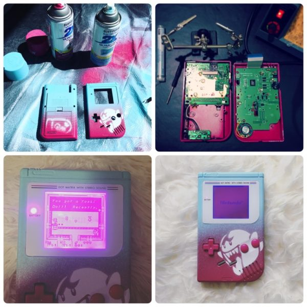 Boo Modded Gameboy