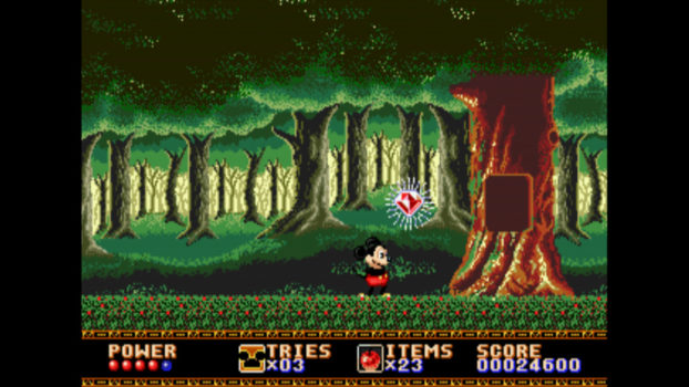 4. Castle of Illusion Starring Mickey Mouse (Genesis, Saturn)