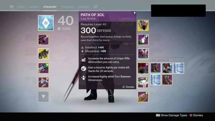 Destiny Raid Gear