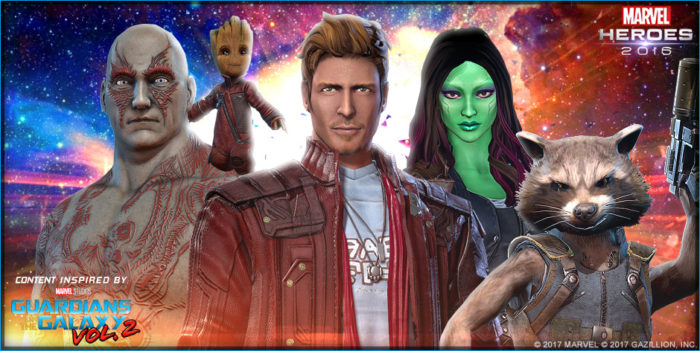 Marvel Heroes Guardians of the Galaxy 2